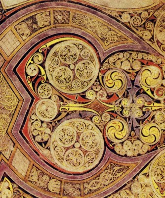Book of Kells Chi Rho Page